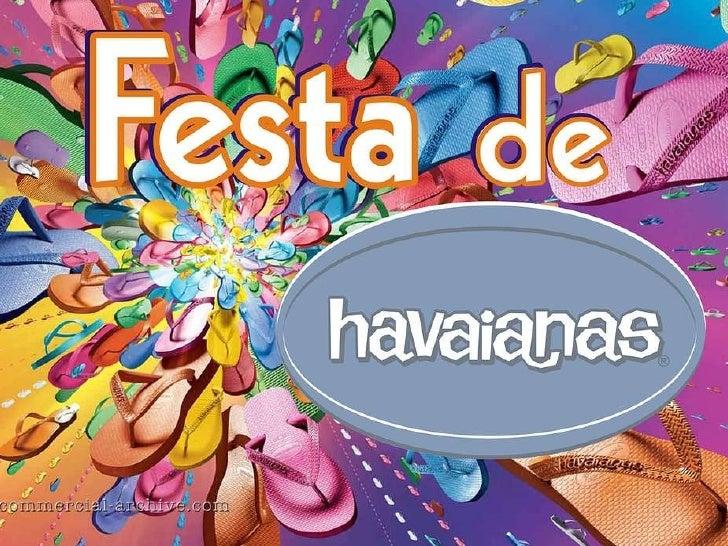 Festa de havaianas