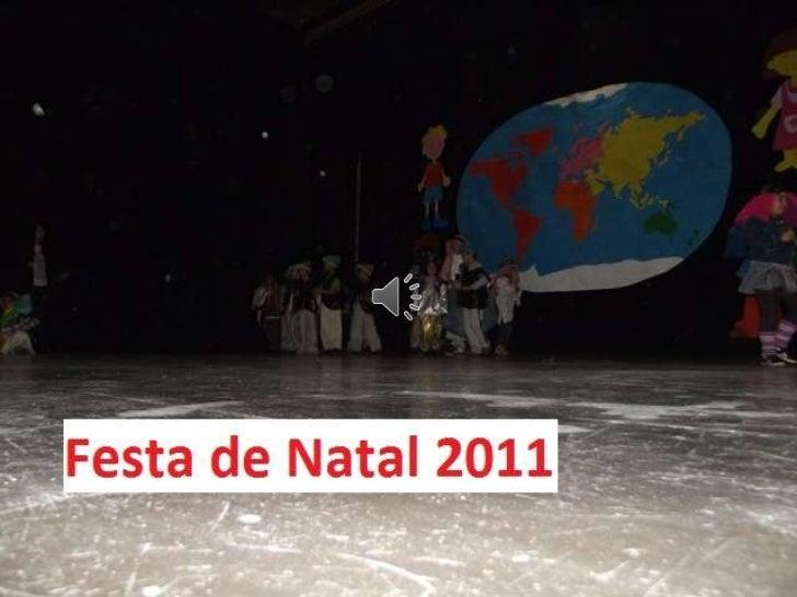 Festa de natal   2.ºa - ADCEO