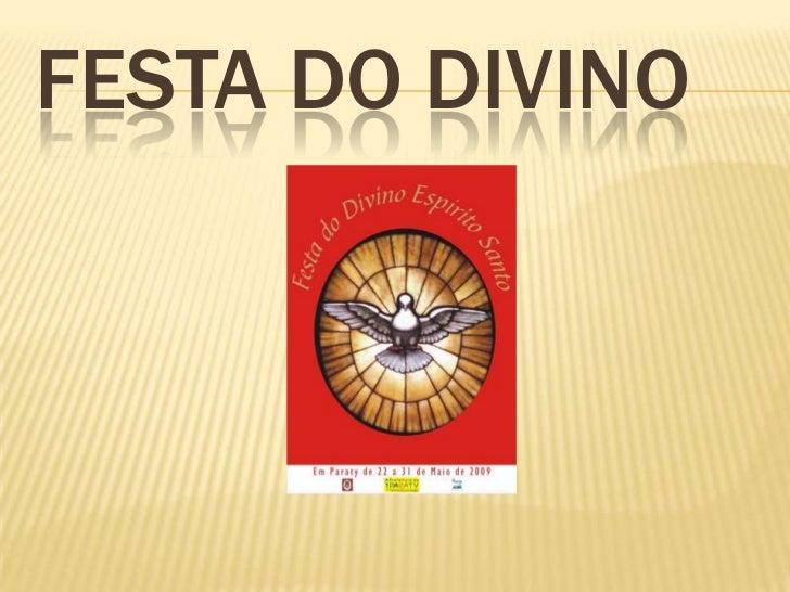 FESTA DO DIVINO