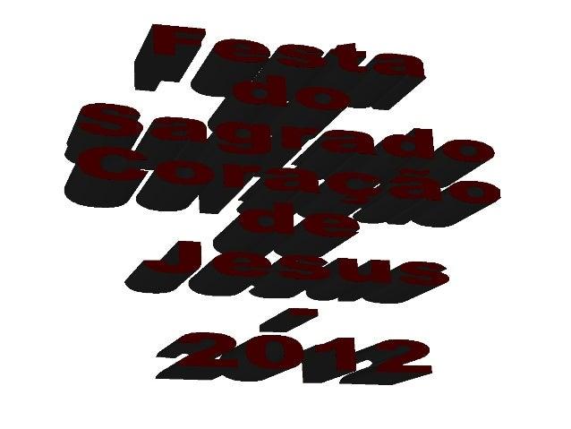 Festa do padroeiro   2012