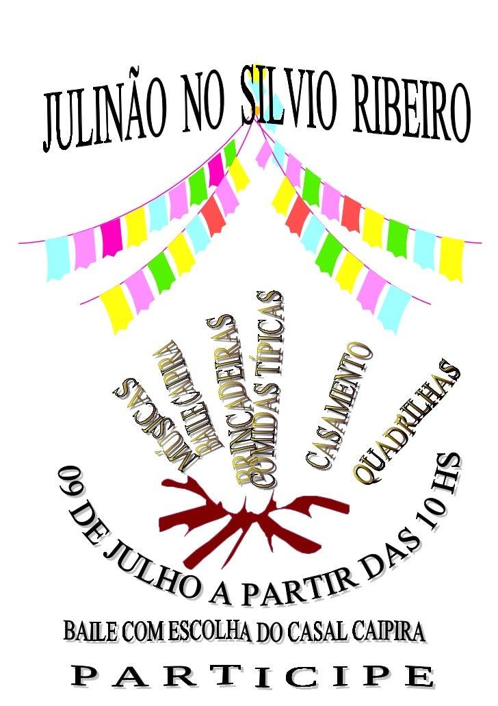Festa junina  cartaz