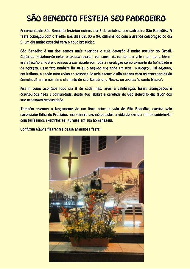 Festejos de São Benedito 2013