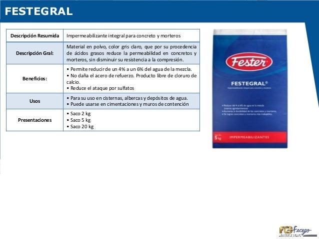Fester - Productos para impermeabilizar fachadas ...