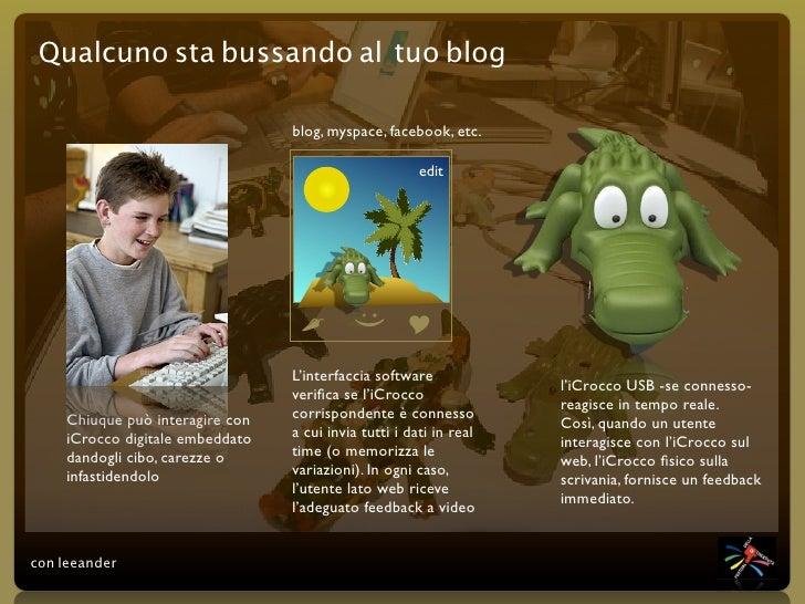 Qualcuno sta bussando al tuo blog                                    blog, myspace, facebook, etc.                        ...