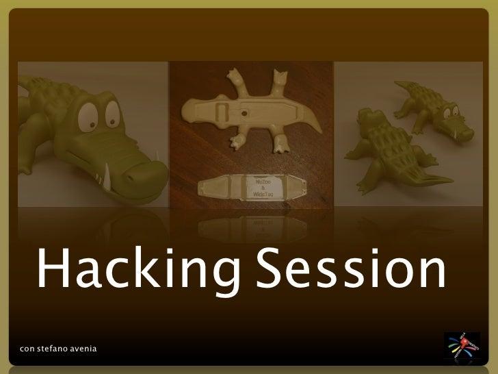 Hacking Session con stefano avenia