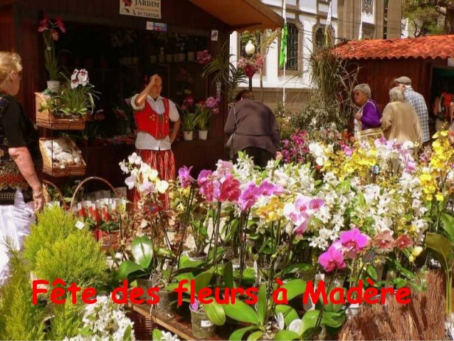 Fête des fleurs à Madère