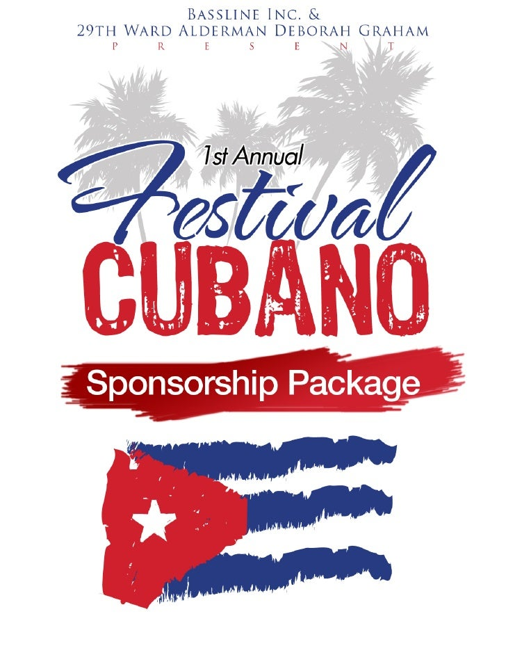 Festival  Cubano  Sponsorship  Package 2010    Email