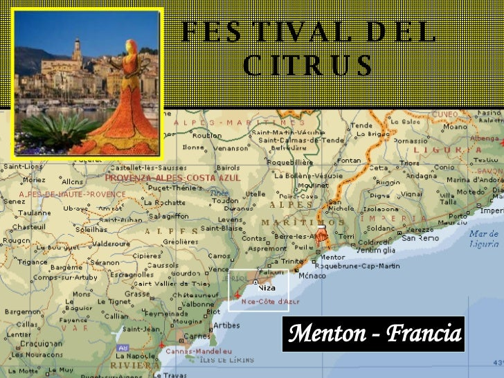 FESTIVAL DEL   CITRUS Menton - Francia