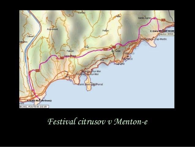 Festival citrusov v Menton-e