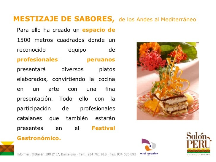 Festival gastron mico mestizaje de sabores for Gastronomia definicion