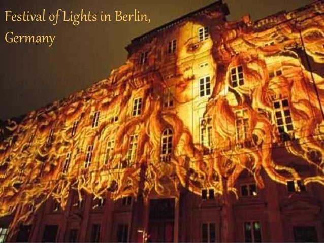 One of the world's largest illumination festivals introduces itself.  The festival transforms Berlin every October in an a...