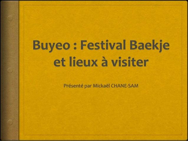 L'arrivée à Buyeo le 1er Octobre 2016
