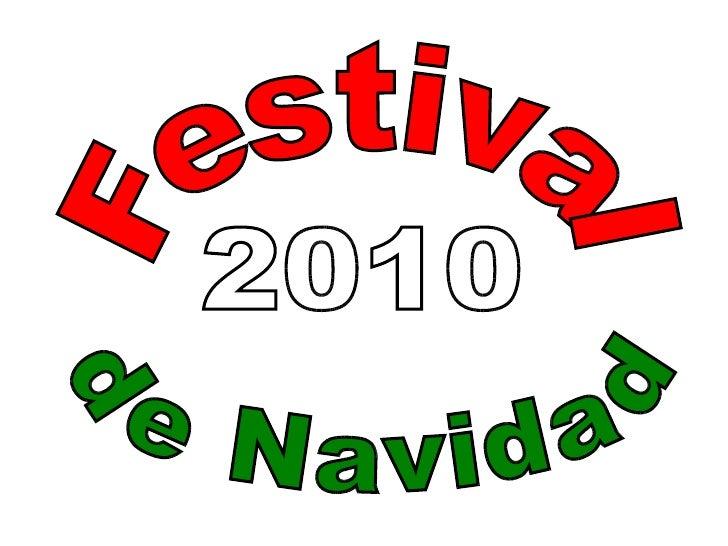 Festival de Navidad 2010