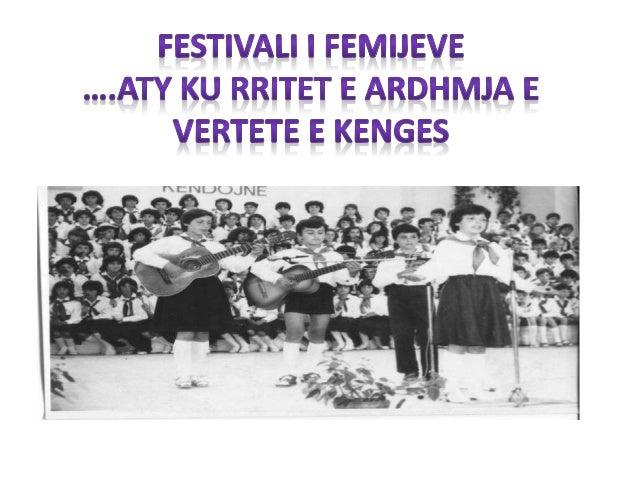 Qyteti vater e kenges per femije. Perse pikerisht Shkodra? Nuk ishte rastësi që festivali i këngës për fëmijë lindi në Shk...