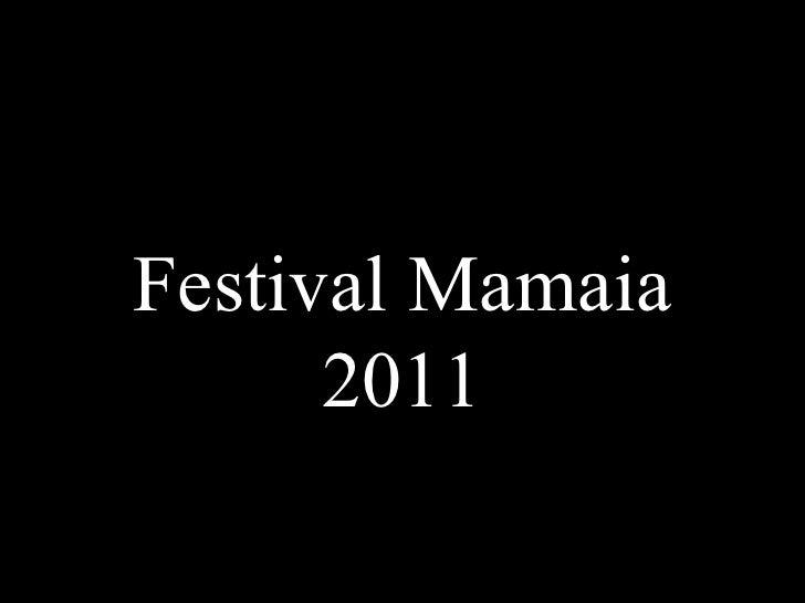 Festival Mamaia 2011