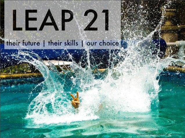 LEAP 21their future | their skills | our choice                                           http://www.flickr.com/photos/7349...