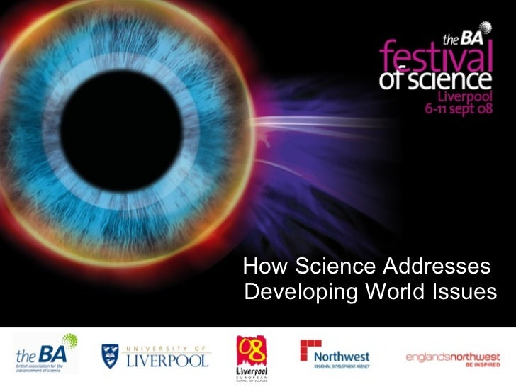 How Science Addresses  Developing World Issues