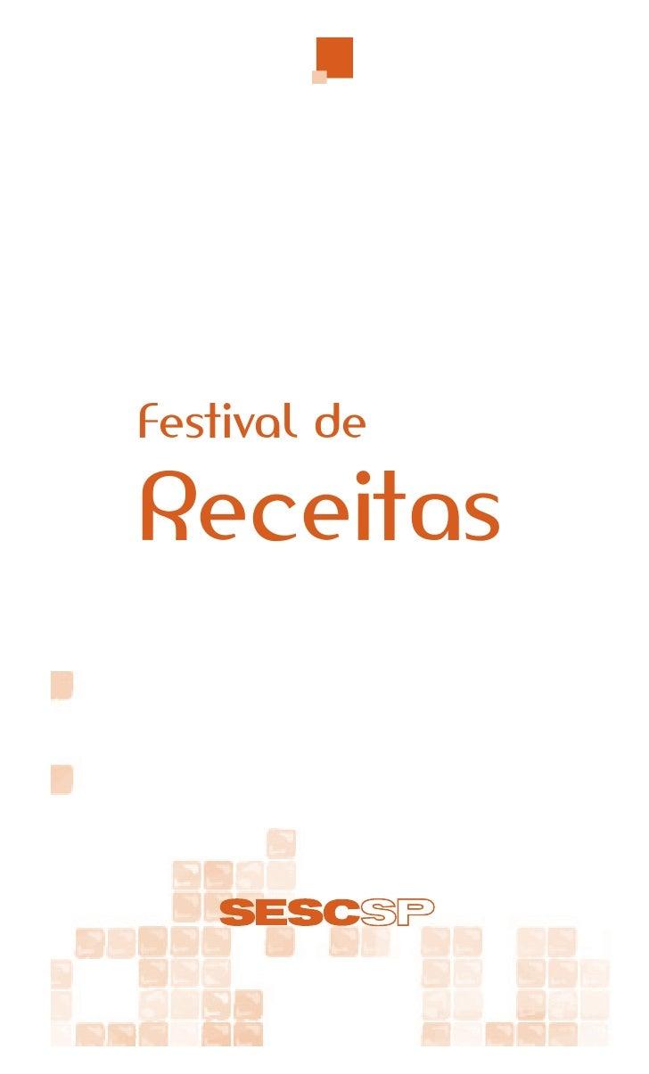Festival deReceitas         1