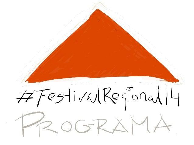 #Festival regional14 presentación 2