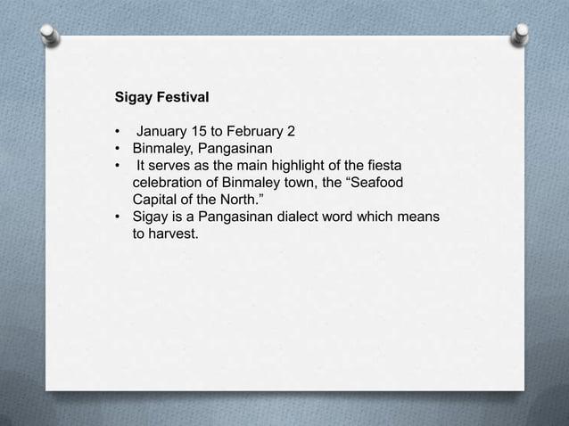 Festivals (REGION 1) Philippines