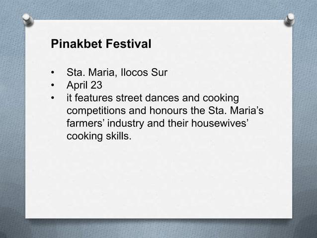 Binatbatan Festival • Vigan City, Ilocos Sur • First week of May • the festival got its name from the Iluko term batbatin,...