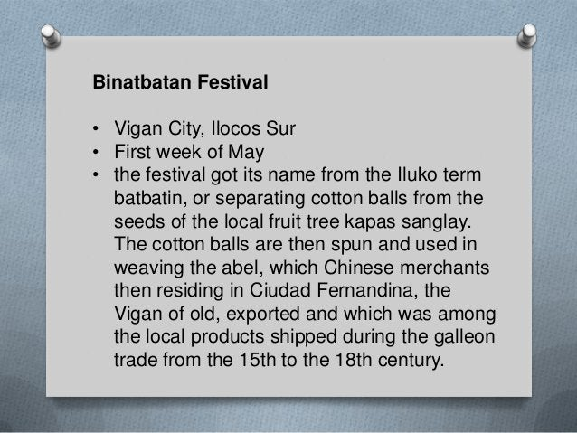 Tabako Festival • Candon City, Ilocos Sur • every last week of March • thanksgiving for the city's bountiful harvest of to...