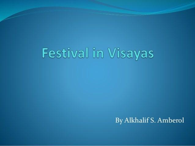 major festivals in visayas