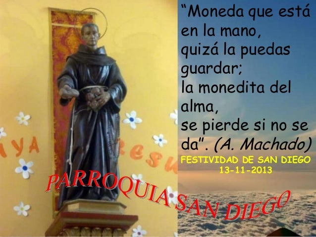 """""""Moneda que está en la mano, quizá la puedas guardar; la monedita del alma, se pierde si no se da"""". (A. Machado)  FESTIVID..."""