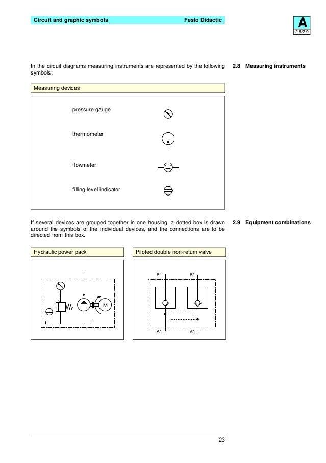 Hydraulic Pressure Gauge Schematic Symbol - wiring diagrams image ...