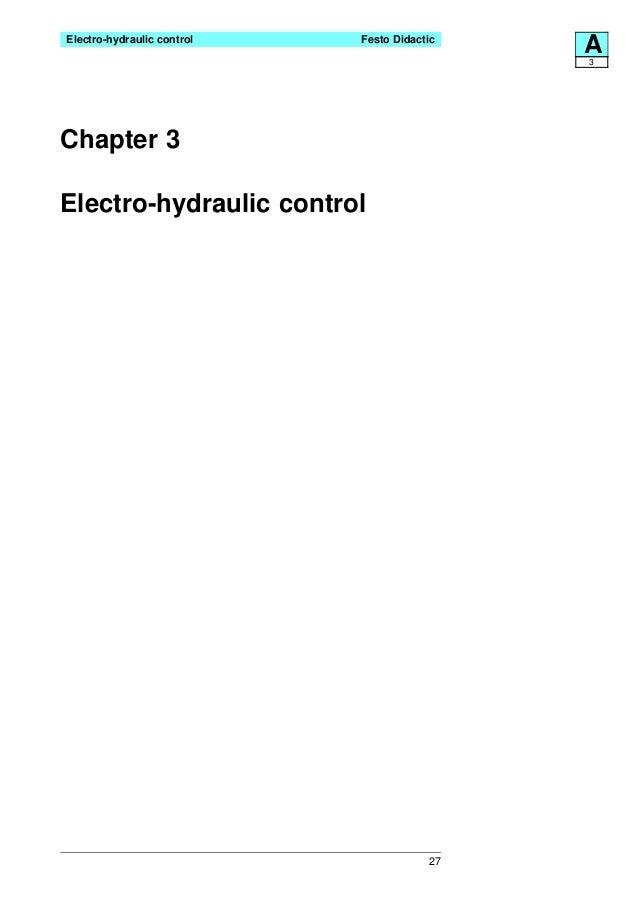 Festo electro hydraulics basic levels-textbook