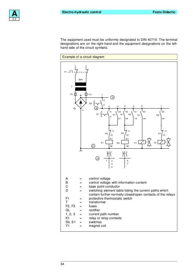 festo electro hydraulics basic levels textbook rh slideshare net Servo 140 Limit Switch Wiring Diagram Honeywell Limit Switch Wire Diagram