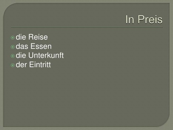 AllianceArena</li></li></ul><li>Wohnung<br />Hotel ****<br />InterCity Hotel Dresden<br />-Standardzimmer<br />-Doppelzimm...
