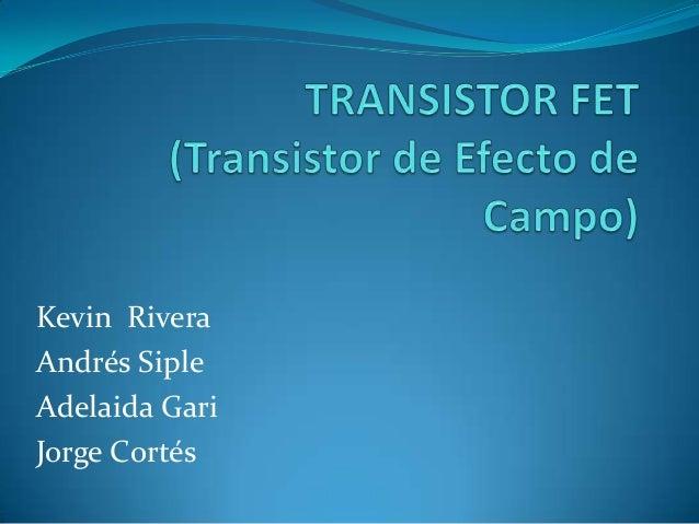 Kevin RiveraAndrés SipleAdelaida GariJorge Cortés