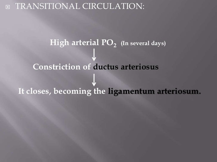 Removal of the placenta from the circulation        Also results in closure of the ductus venosus.   The left ventricle i...