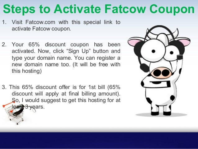 Looking for a Great discounts on Hosting and Domain Names? Use our Fatcow Coupon code to Get Big Discount, all coupons are...