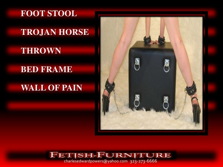 Fetish Furniture Portfolio