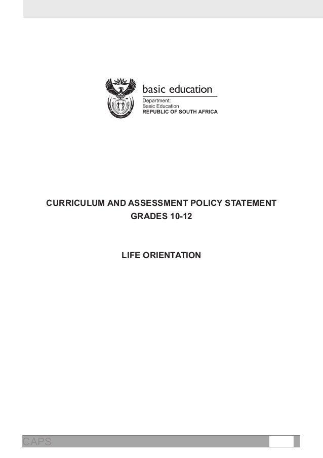Life Orientation Grade 12 Exam Papers 2015 Memo