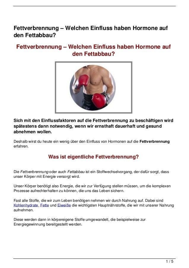Fettverbrennung – Welchen Einfluss haben Hormone aufden Fettabbau? Fettverbrennung – Welchen Einfluss haben Hormone auf   ...