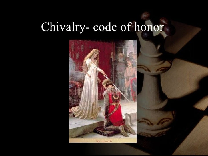 an introduction to the monasticism and the code of chivalry in the middle ages Knighthood and chivalry the latin term in the middle ages was just as the original military-monastic orders were searching for a new mission after the.