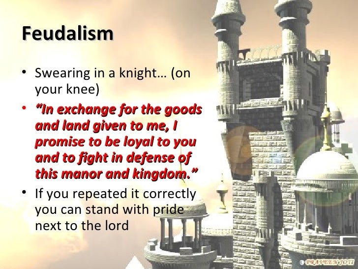 feudalism and land Feudal institutions the terminology and concepts that are implied in the designation of a feudal society had been defined by the a section of land granted.