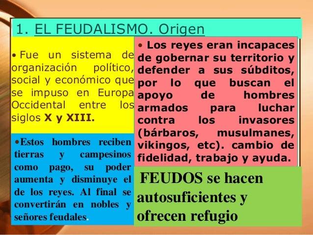 FEUDALISMO Slide 3