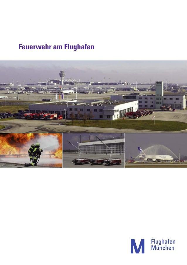 Feuerwehr am Flughafen