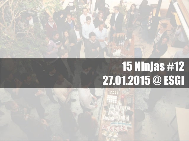 15 Ninjas #12 27.01.2015 @ ESGI