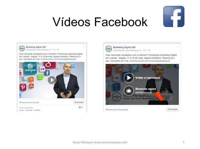 Linkedin • CV completo PT EN, recomendações • Grupos (aprenda e partilhe) • Estabeleça contactos, networking • Oferta e pr...