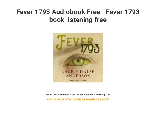 Fever 1793 Audiobook Free | Fever 1793 book listening free Fever 1793 Audiobook Free | Fever 1793 book listening free LINK...