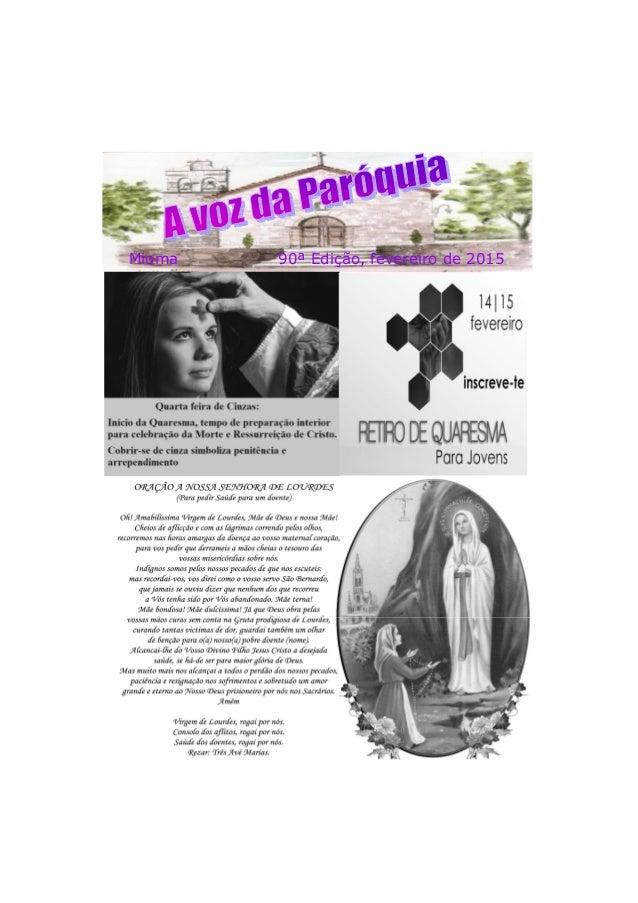 Mioma 90ª Edição, fevereiro de 2015