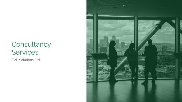 Consultancy Services EVP Solutions Ltd