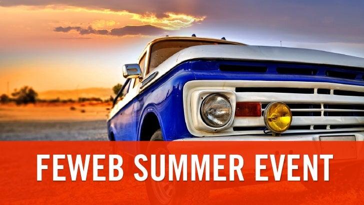 FEWEB SUMMER EVENT
