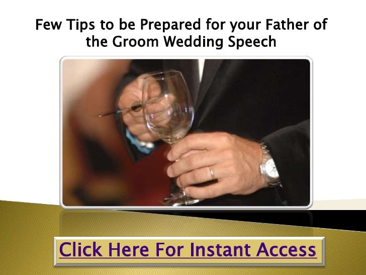 Few tips to be prepared for your father of the groom ...