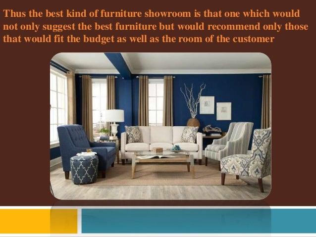 Few ways to choose good furniture showroom in kolkata